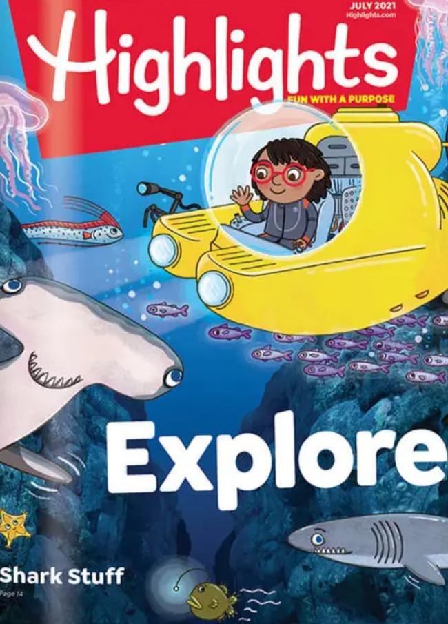Highlights for Children Catalog Cover