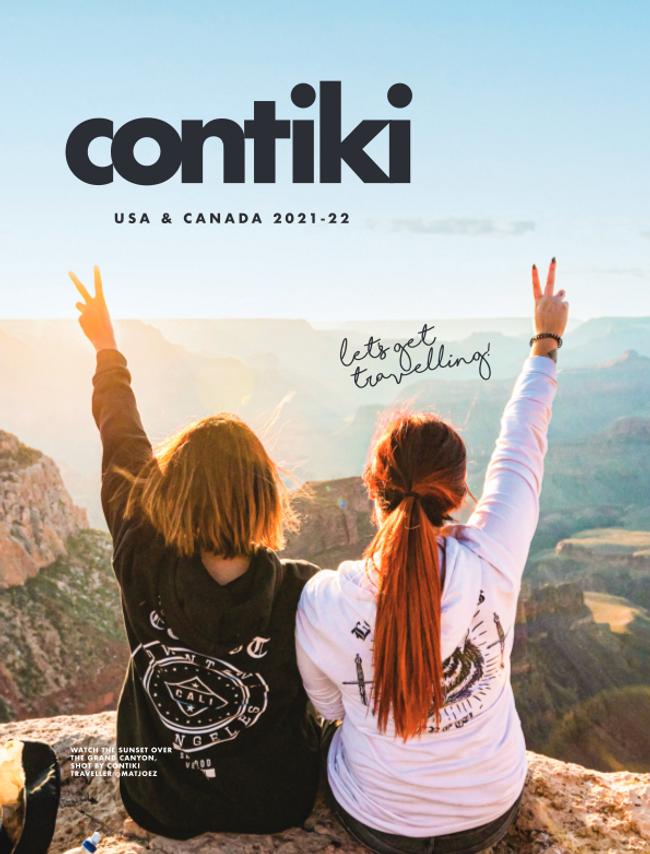 Contiki Catalog Cover