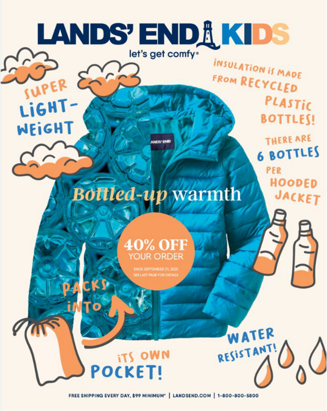 Land's End - Kids Catalog Cover
