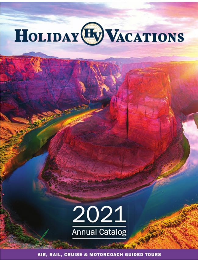 Holiday Vacations Catalog Cover