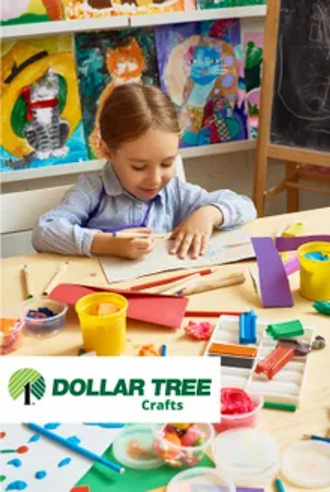 Dollar Tree - Crafts Catalog Cover