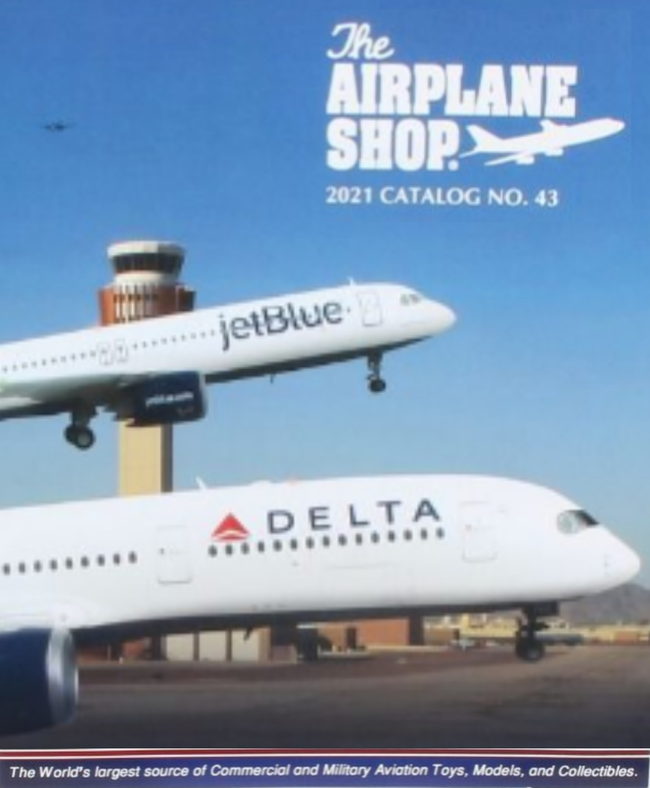 The Airplane Shop Catalog Cover