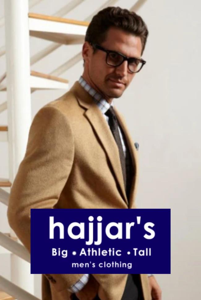 Hajjar's Big & Tall Catalog Cover