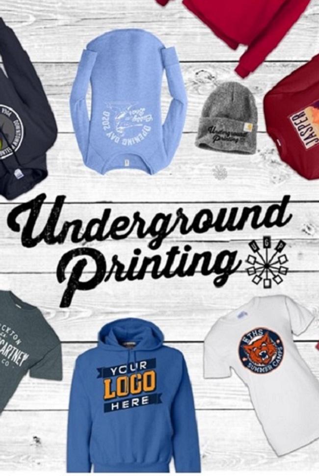 Underground Printing Catalog Cover