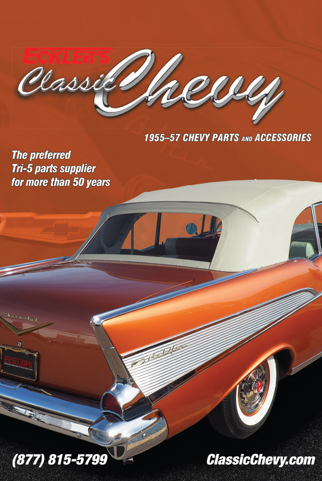 Eckler's Classic Chevy Catalog Cover