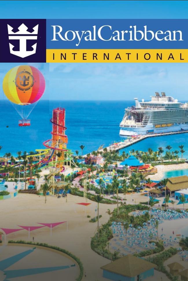 Royal Caribbean Catalog Cover