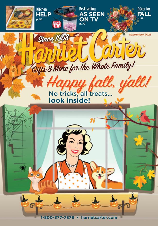 Harriet Carter Catalog Cover