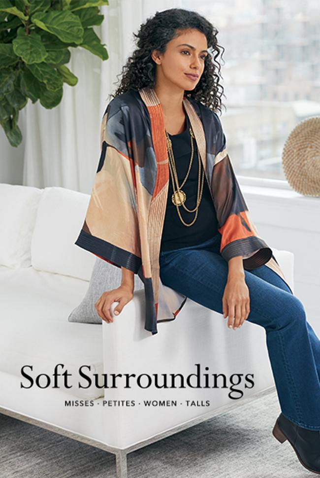 Soft Surroundings Beauty Catalog Cover