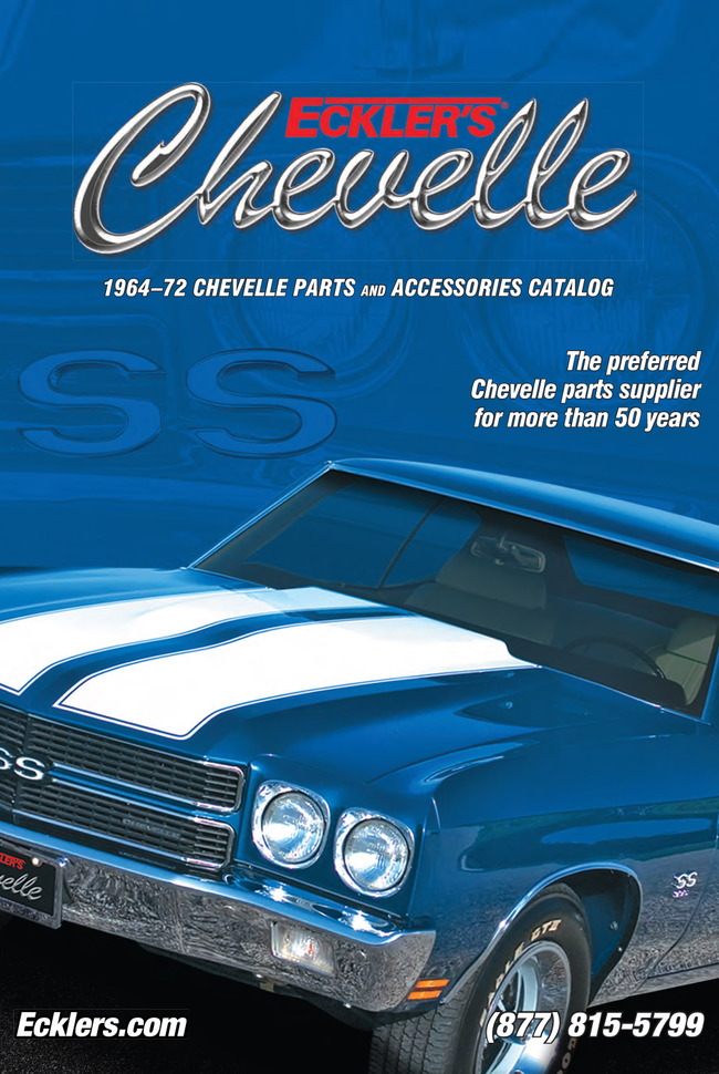 Eckler's Corvettes Catalog Cover