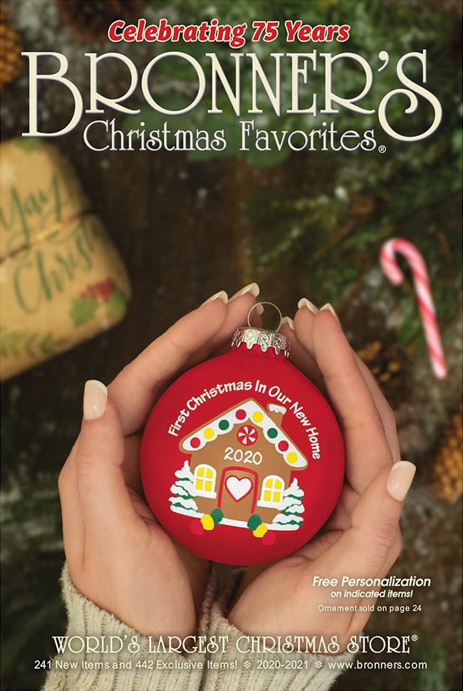 Bronner's Christmas Wonderland Catalog Cover