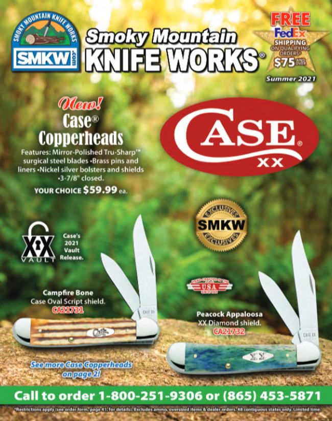 Smoky Mountain Knife Works Catalog Cover
