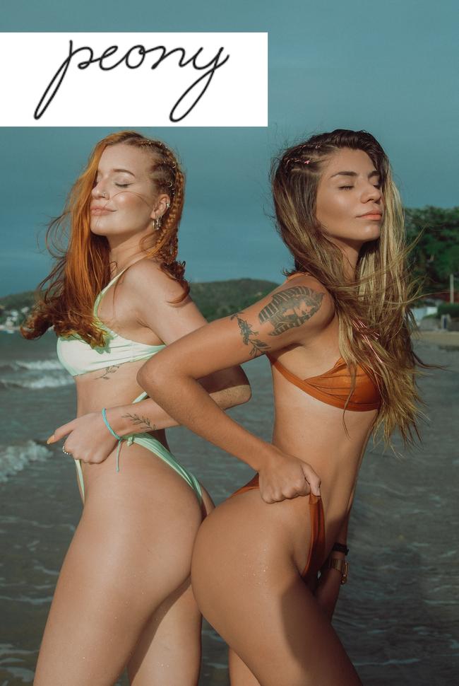 Peony Swimwear Catalog Cover
