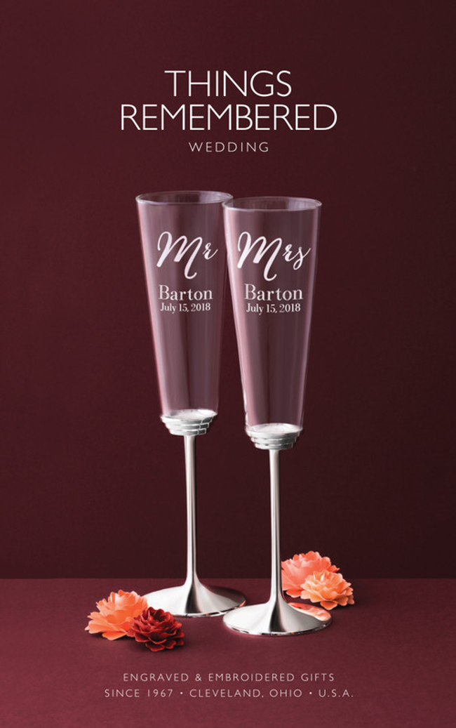 Things Remembered Wedding Catalog Cover