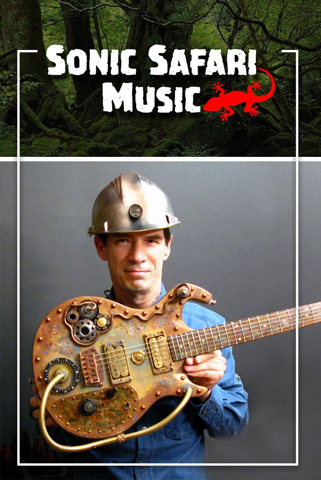 Sonic Safari Music Catalog Cover