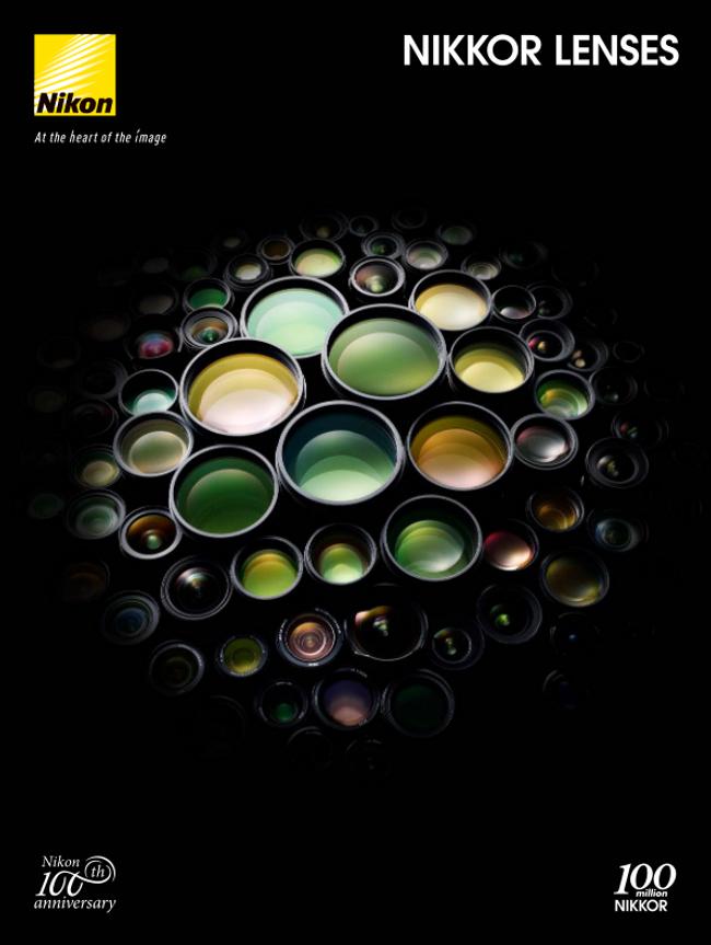 Nikon Camera Lenses Catalog Cover