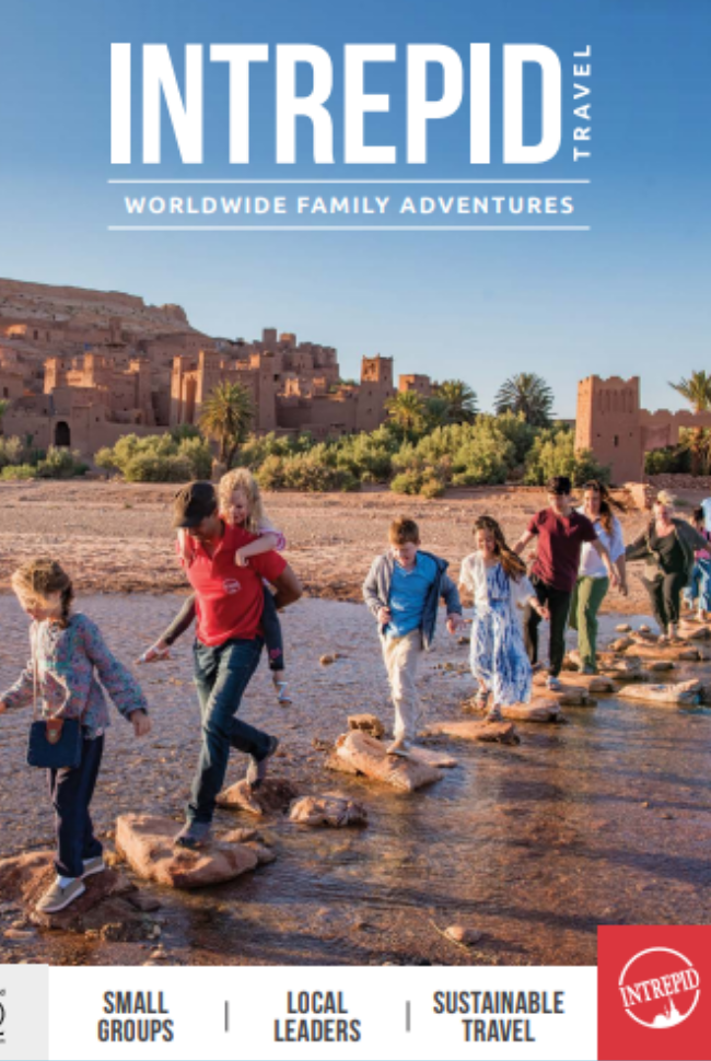 Intrepid Travel Catalog Cover