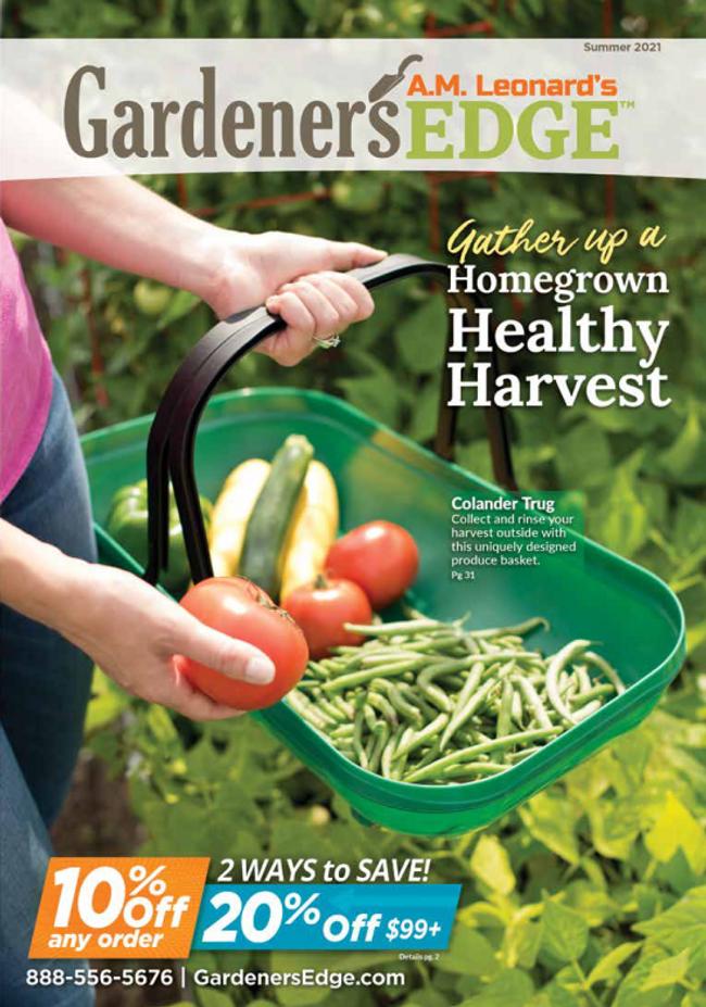 A.M. Leonard's Gardener's Edge Catalog Cover