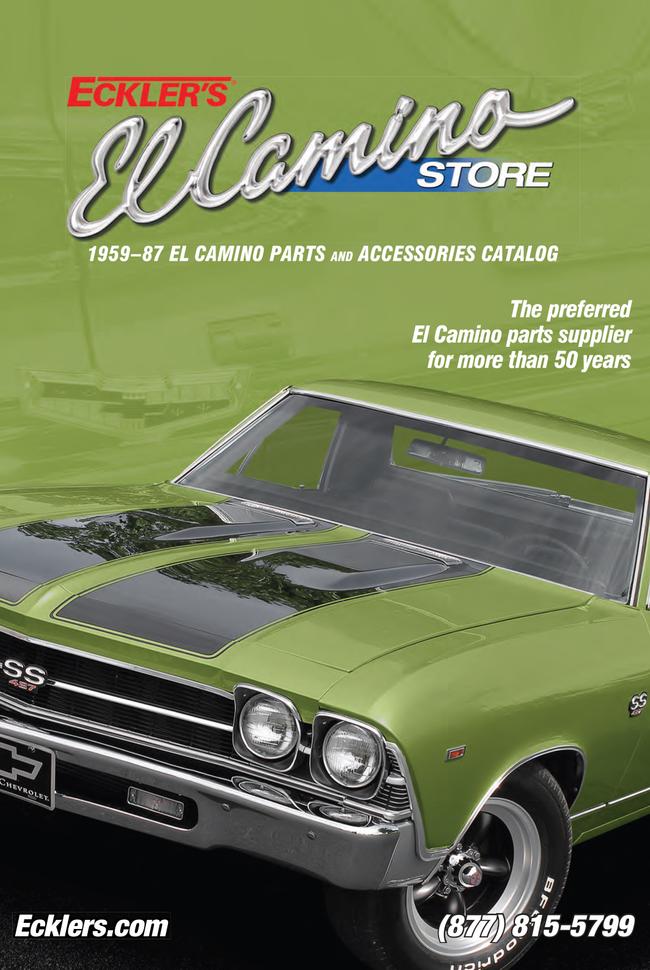 El Camino Store by Eckler's Catalog Cover