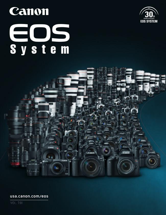 Canon Camera Catalog Cover