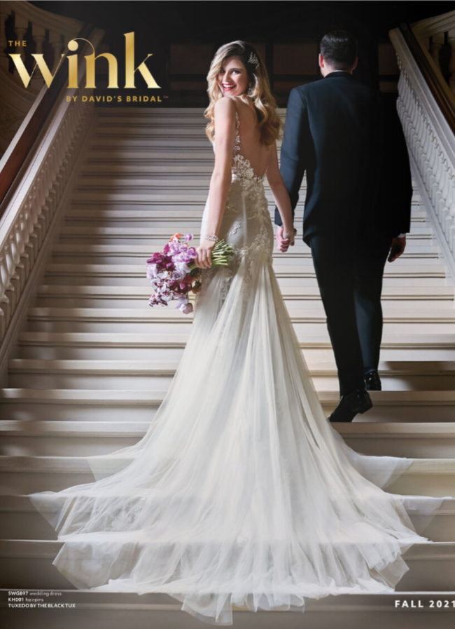 David's Bridal Catalog Cover