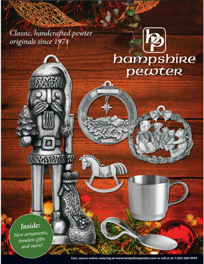 Hampshire Pewter Catalog Cover