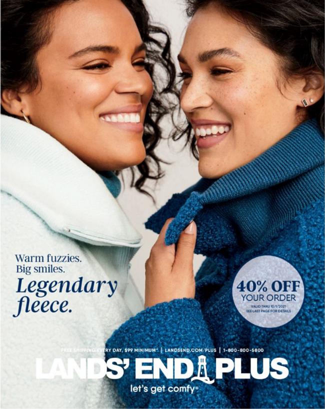 Land's End - Plus Catalog Cover