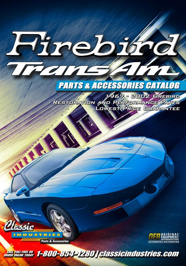 Firebird TransAm Parts Catalog Cover