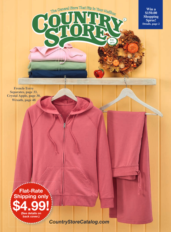 Country Store Catalog Cover