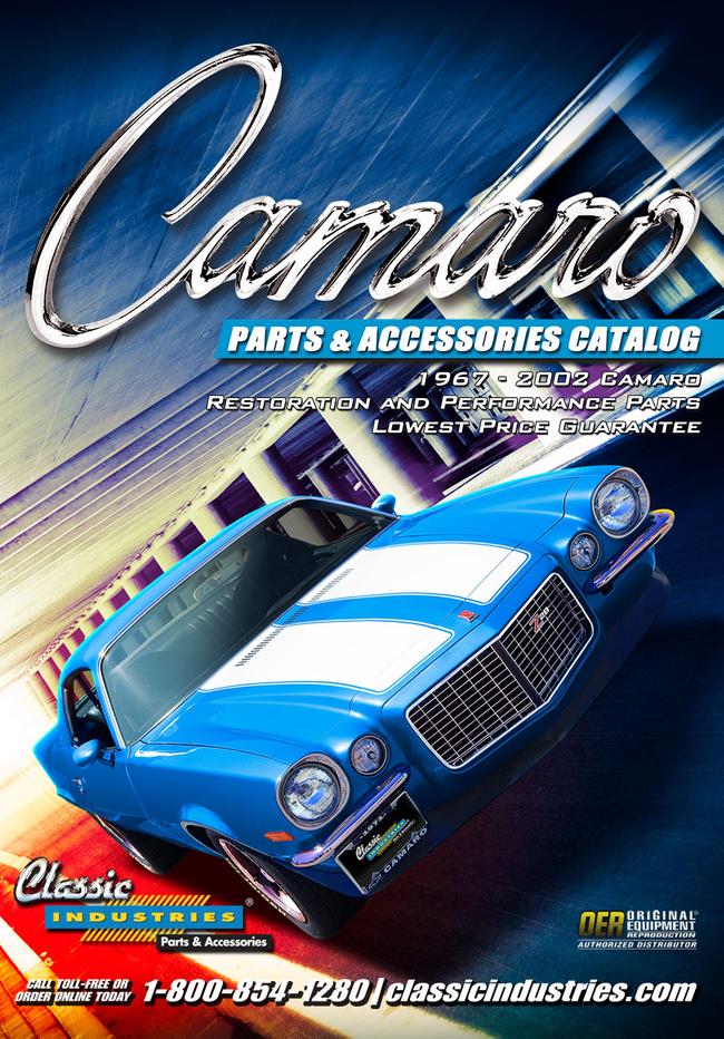 Camaro Parts Catalog Cover