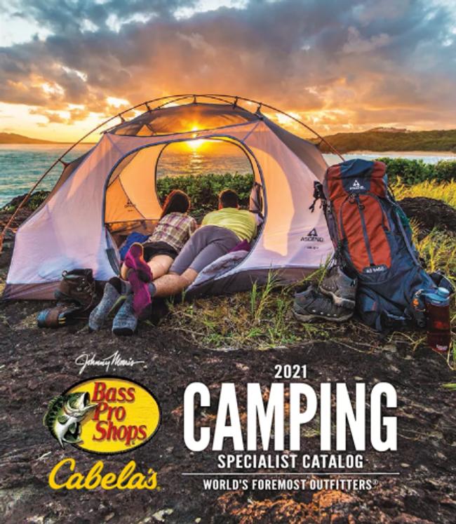Cabela's Camping Catalog Cover