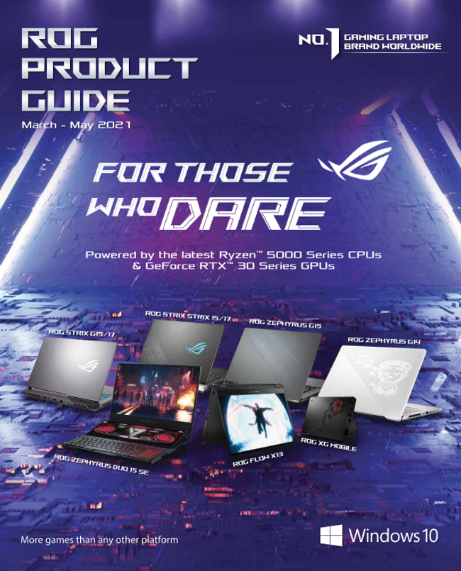 ASUS Catalog Cover