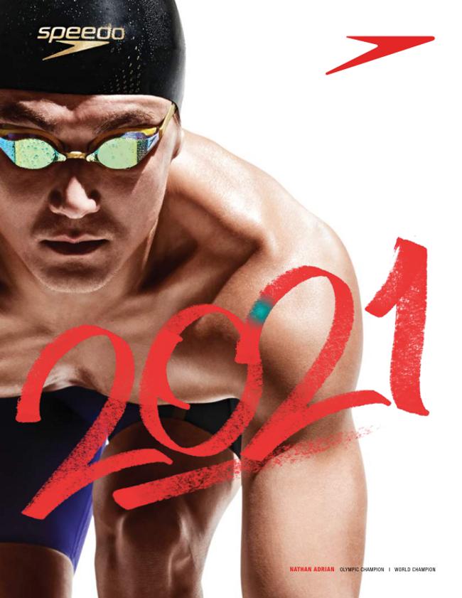 Speedo Swim Catalog Cover