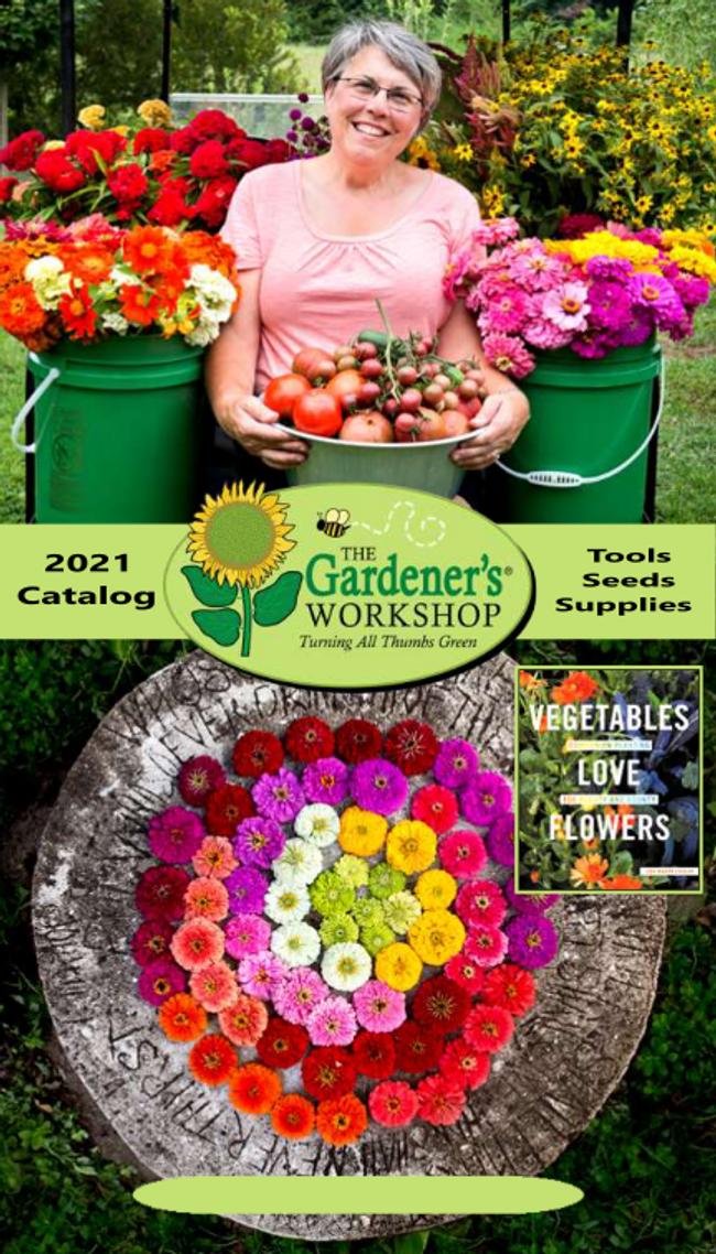 The Gardener's Workshop Catalog Cover
