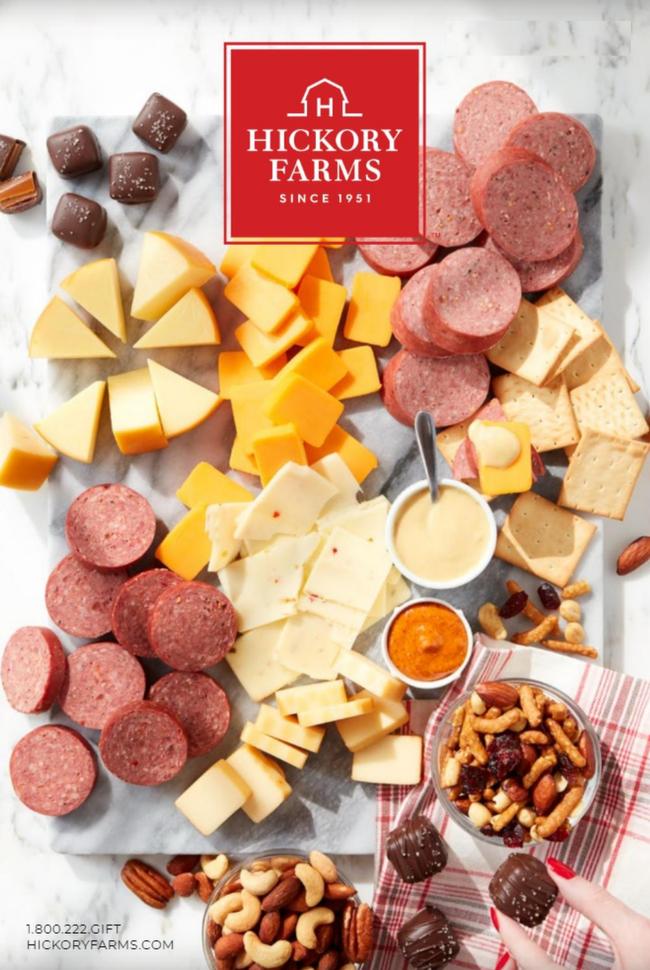 Hickory Farms Catalog Cover