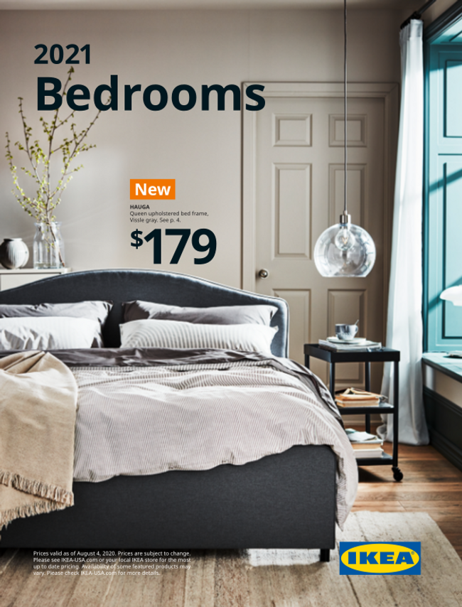 Ikea Bedrooms Catalog Cover
