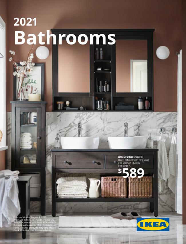 Ikea Bathrooms Catalog Cover