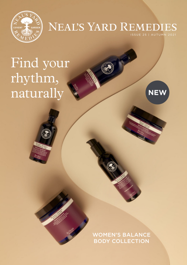 Neal's Yard Remedies Catalog Cover
