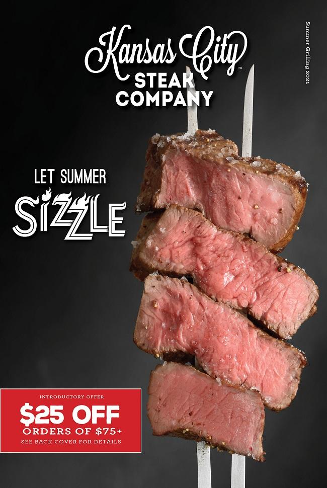 Kansas City Steak Catalog Cover