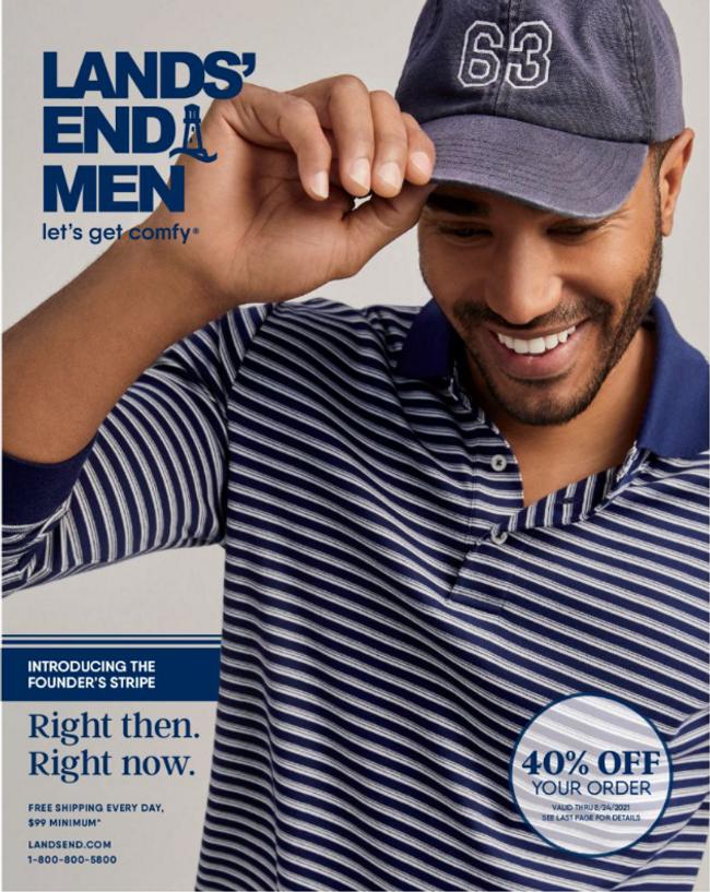 Land's End - Men Catalog Cover