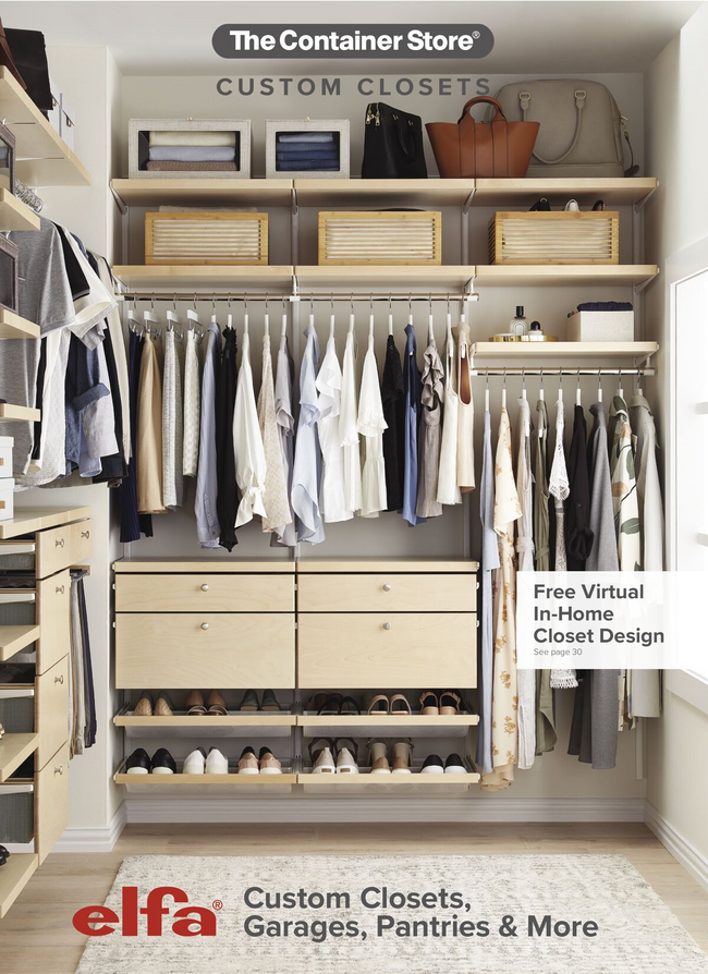 Container Store Catalog Cover