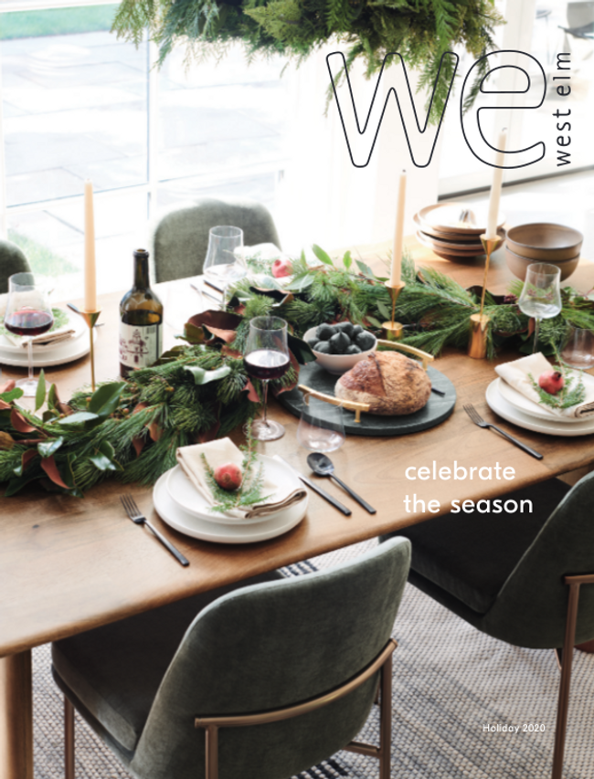 West Elm Catalog Cover