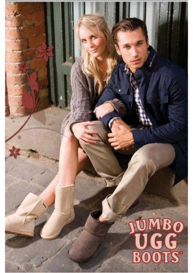 Jumbo UGG Australia Catalog Cover