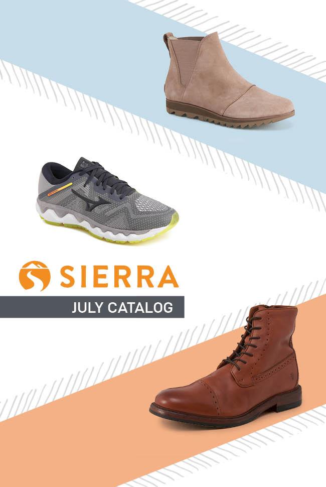 Sierra Shoes etc Catalog Cover