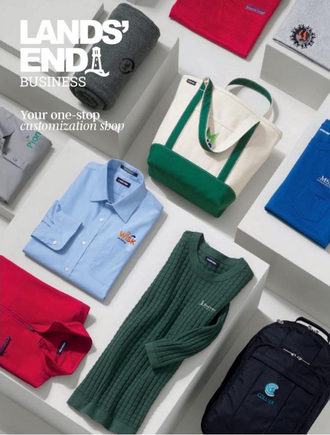 Lands' End Business Catalog Cover