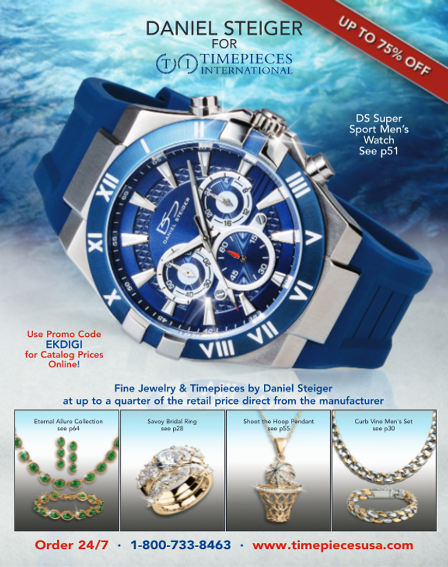 Timepieces International Catalog Cover