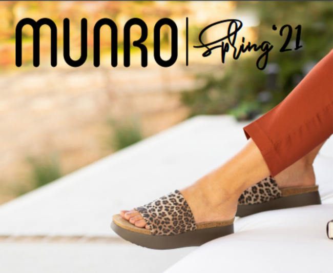 Munro Shoes Catalog Cover