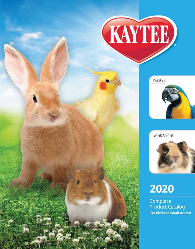 Kaytee Catalog Cover