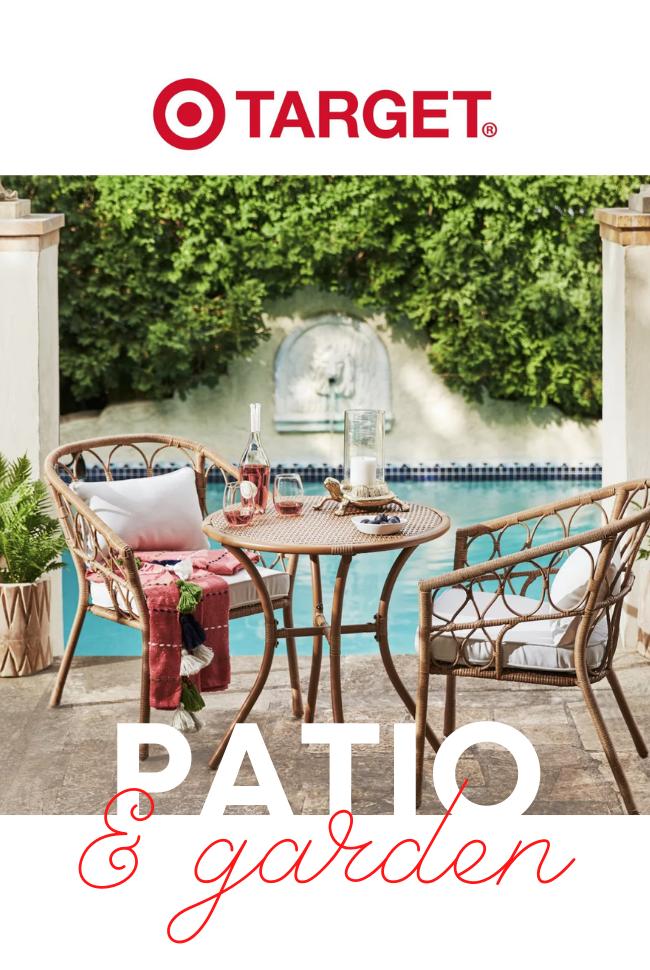 Target Garden & Patio Catalog Cover