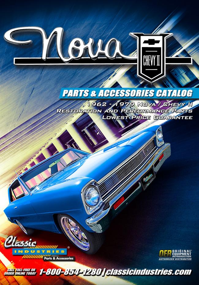 Nova/Chevy Parts Catalog Cover