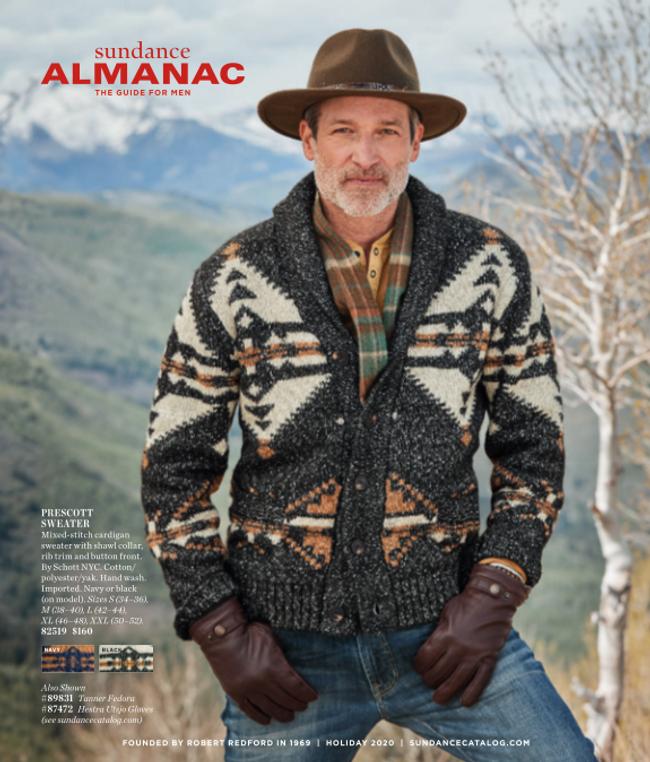 Sundance - Mens Almanac Catalog Cover